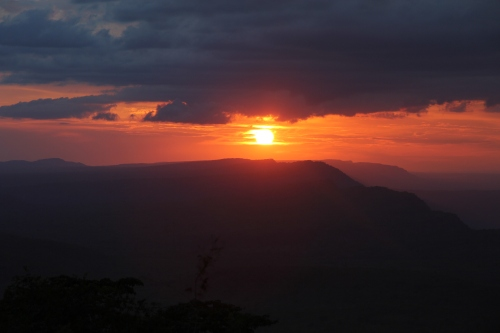 Sunset at Chizarira National Park - Zimbabwe