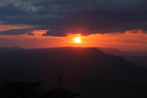 Sunset at Chizarira National Park - Zimbabwe